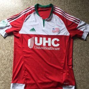 Adidas MLS united health sponsor soccer jersey